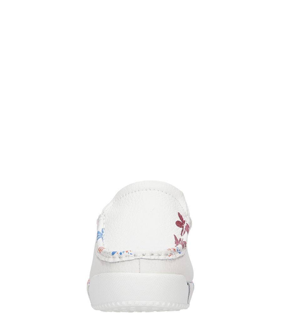 Damskie KLAPKI LANQIER 28C523 biały;;