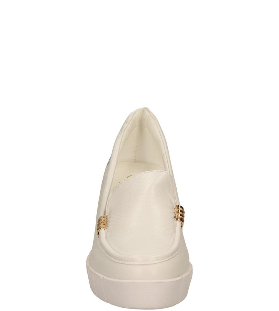 Damskie TRAMPKI LU BOO XW15563 biały;;