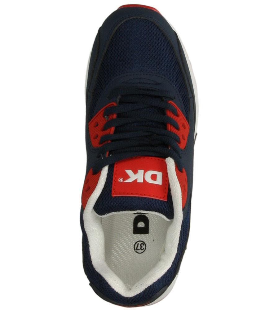 Damskie SPORTOWE DK GT-7944 niebieski;czerwony;