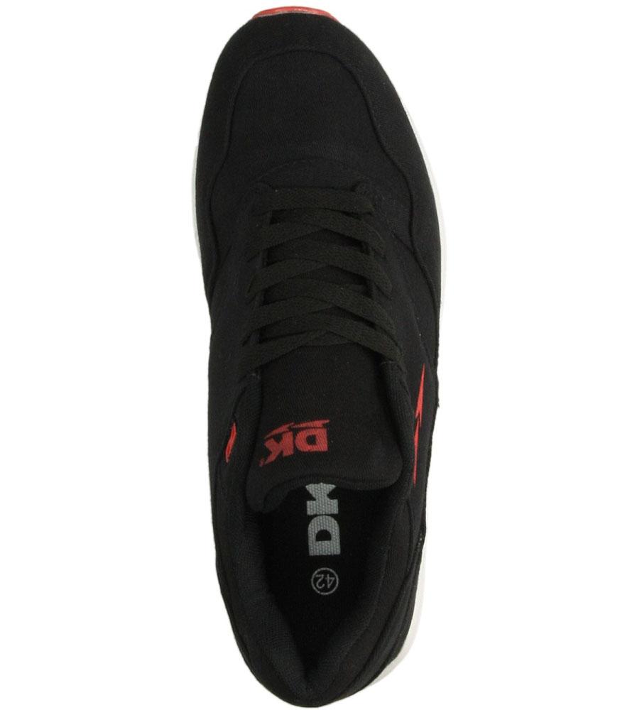 Męskie SPORTOWE DK GT-2100 czarny;czerwony;