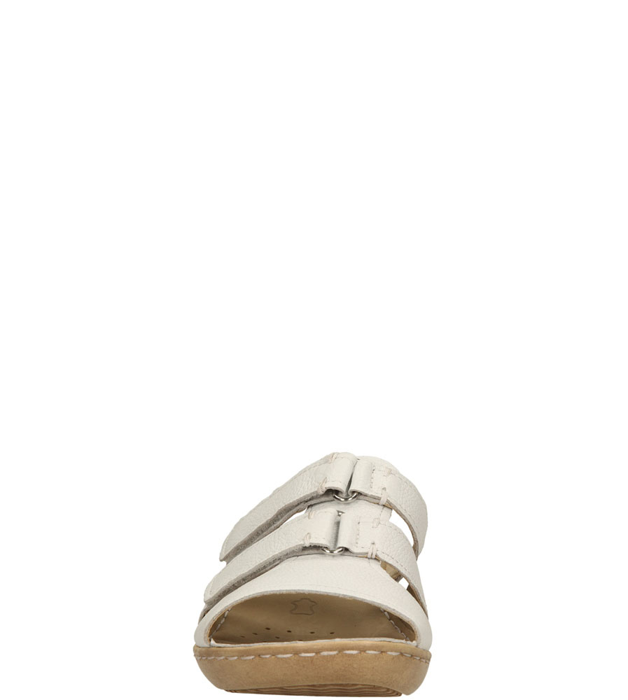 Damskie KLAPKI CAPRICE 9-27253-24 biały;;