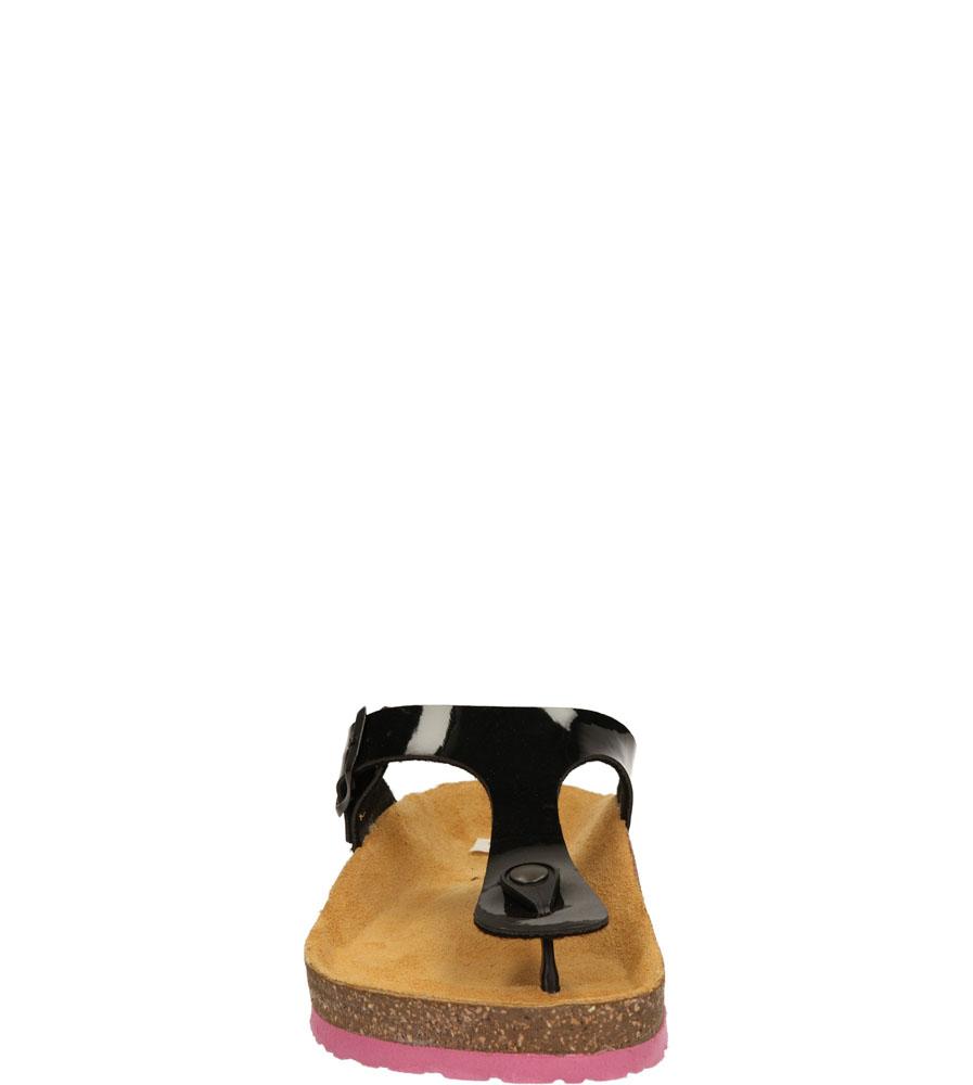 Damskie JAPONKI TAMARIS 1-27106-24 czarny;różowy;
