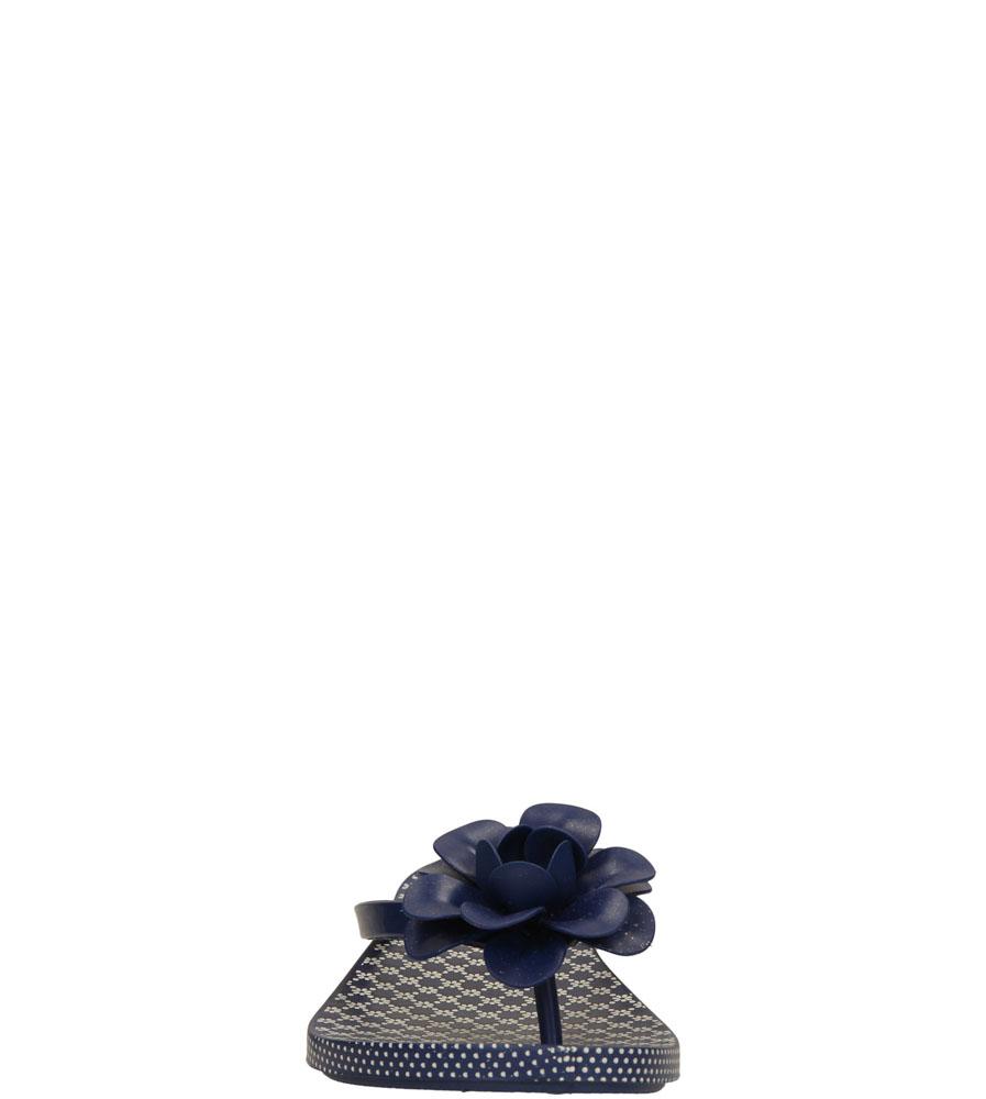 Damskie MELISKI ZAXY 81644 FLOWERS FEM niebieski;;