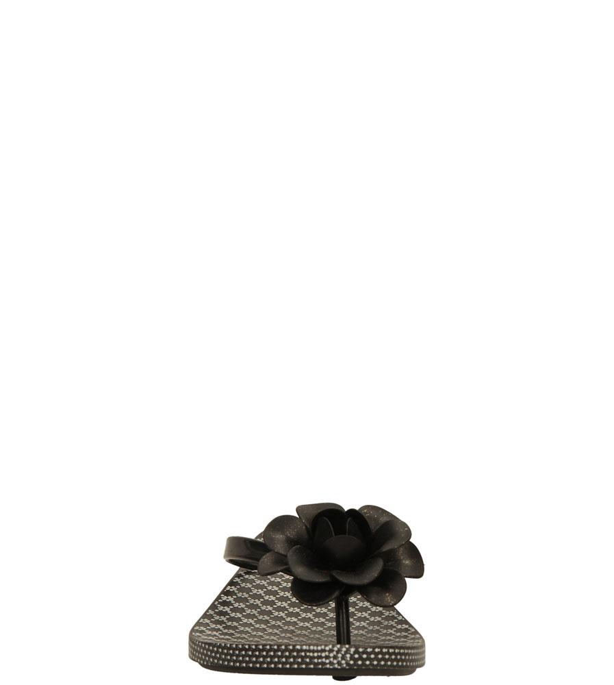 Damskie MELISKI ZAXY 81644 FLOWERS FEM czarny;;