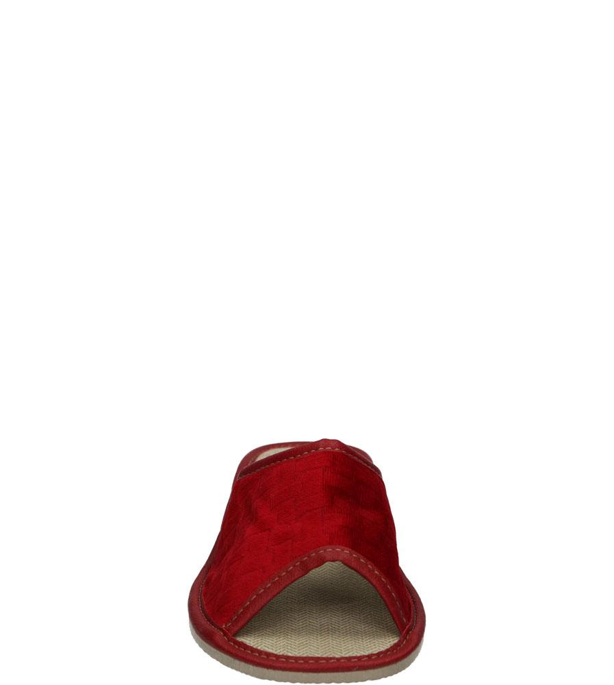 Damskie KAPCIE CASU 2317 czerwony;;