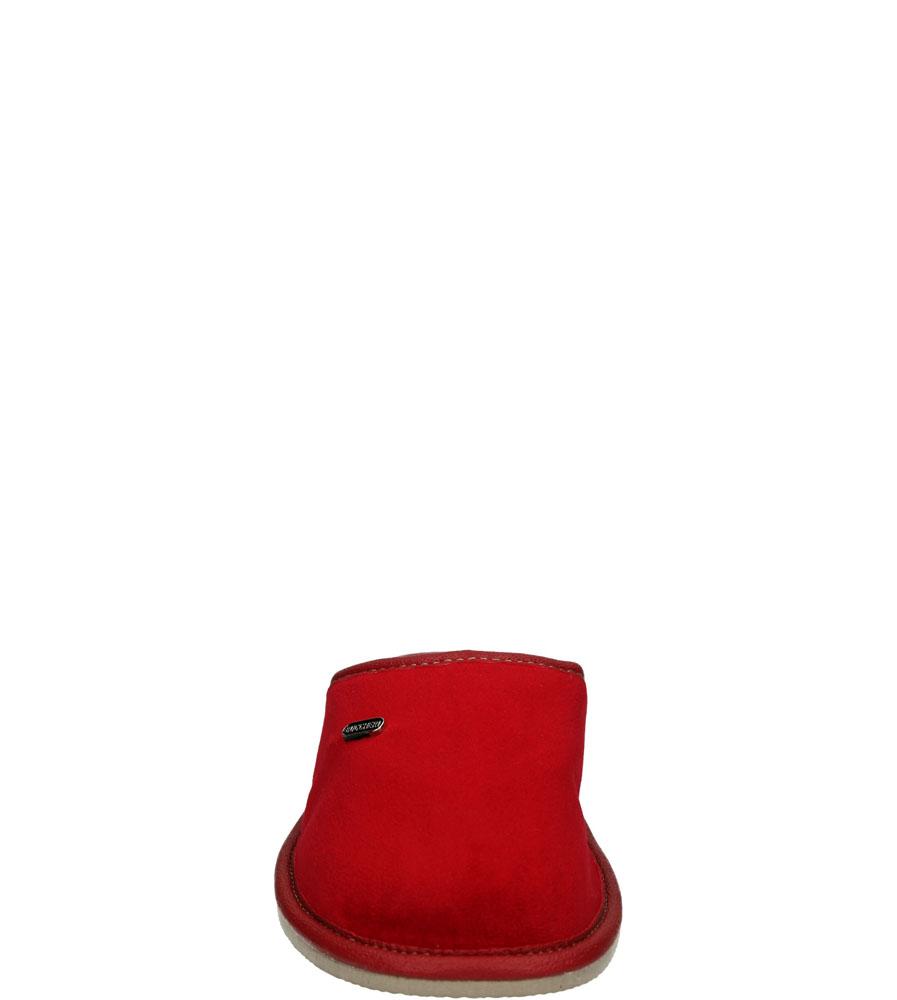 Damskie KAPCIE CASU 2201 czerwony;;