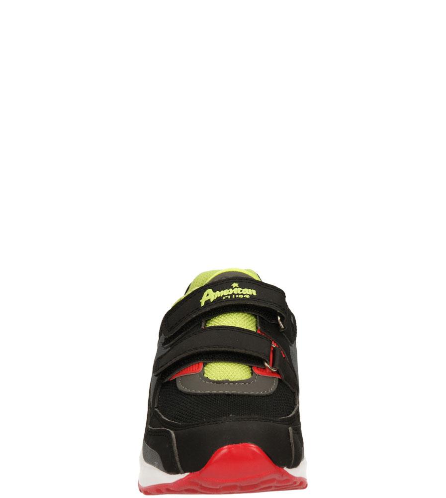 Dziecięce SPORTOWE AMERICAN K13822 czarny;zielony;