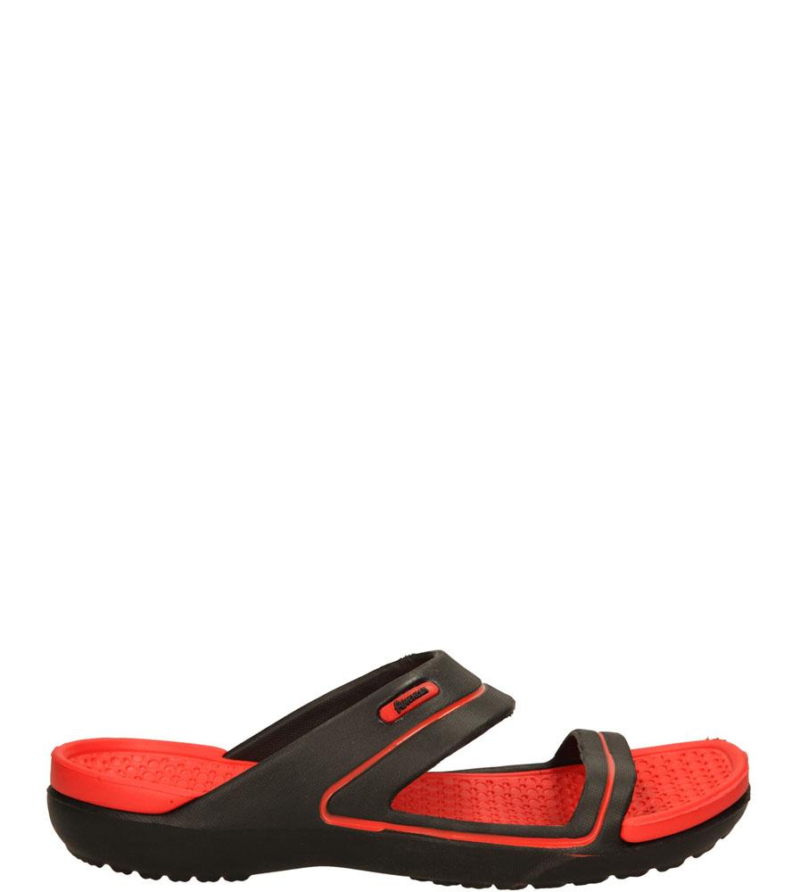 Damskie KLAPKI AMERICAN DX120626-3 czarny;czerwony;