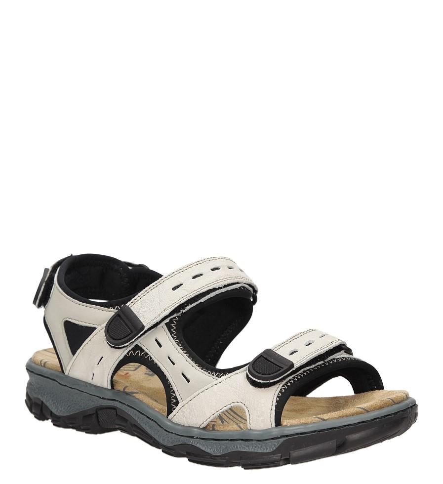 Damskie Sandały Rieker 68872-60 beżowy;;