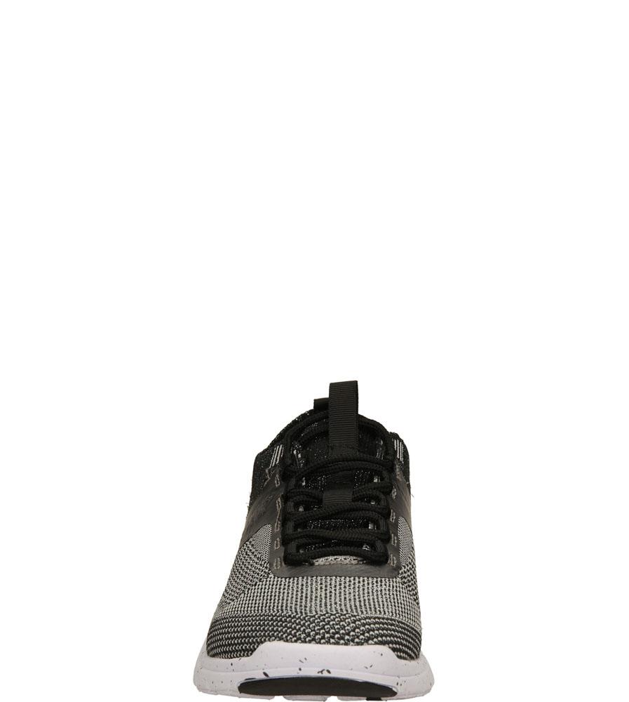 Damskie SPORTOWE BRONX 65262-E czarny;srebrny;biały