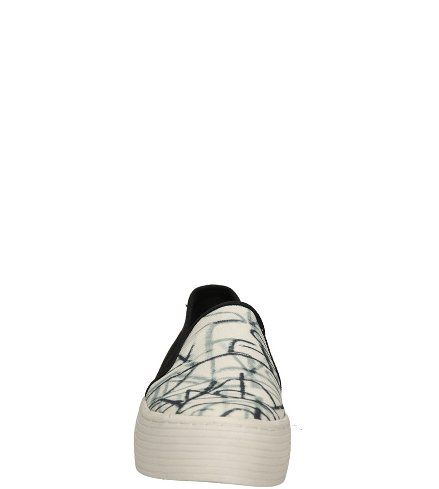 Damskie CREEPERSY SIXTY SEVEN 76704 czarny;biały;