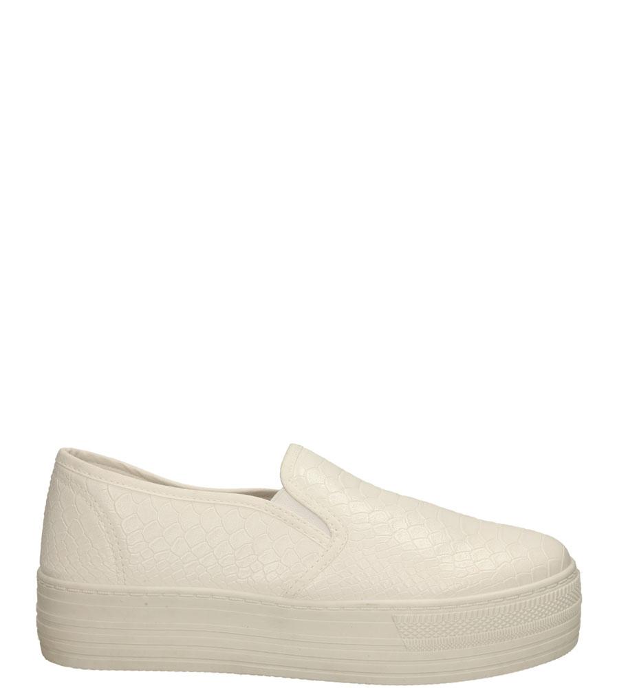 Damskie CREEPERSY CASU 15332B biały;;