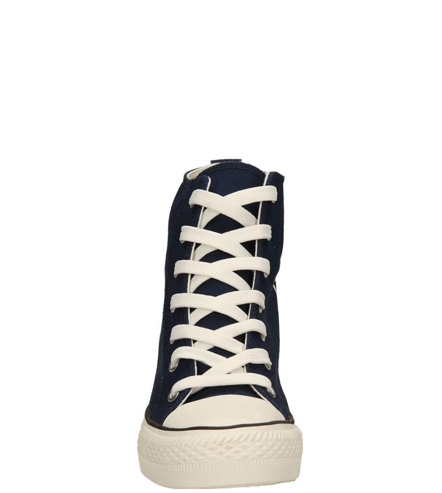 Damskie SNEAKERSY CASU FC-1 niebieski;;