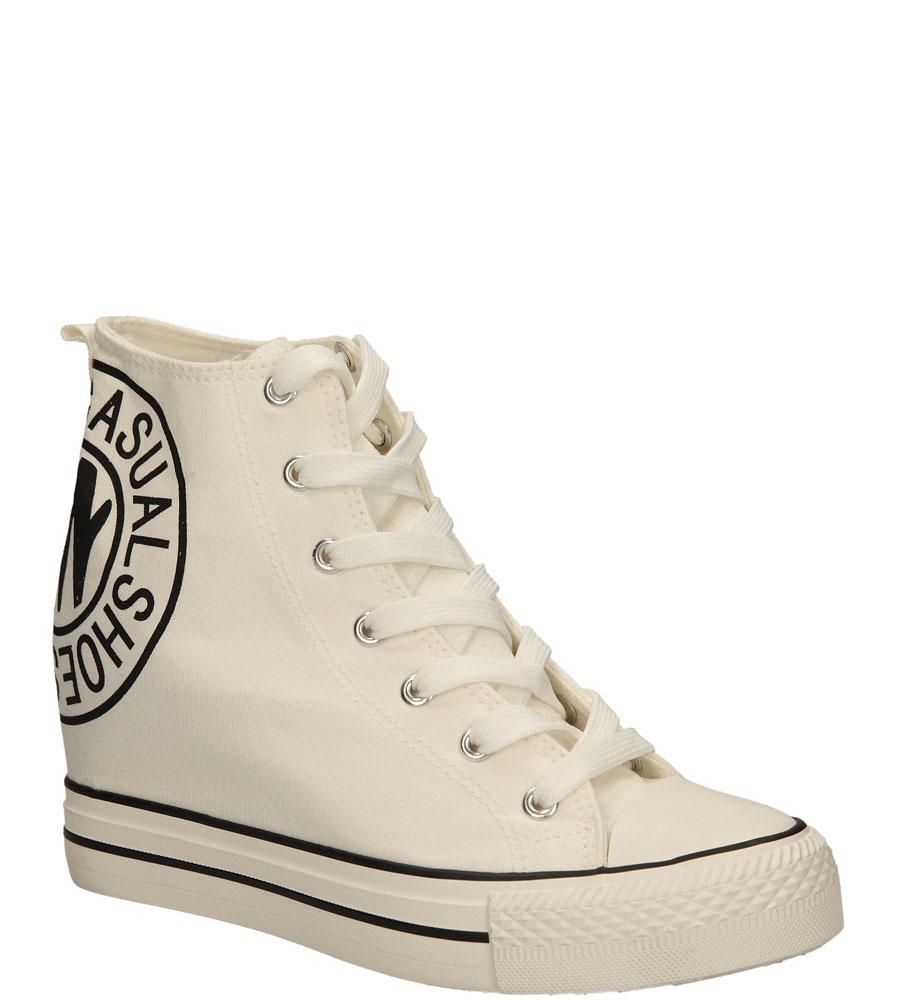 Damskie SNEAKERSY CASU FC-1 biały;;