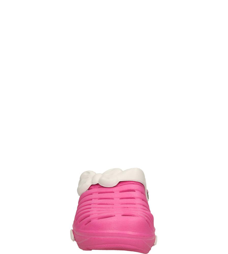 Dziecięce KLAPKI AMERICAN NH-S6002 różowy;biały;
