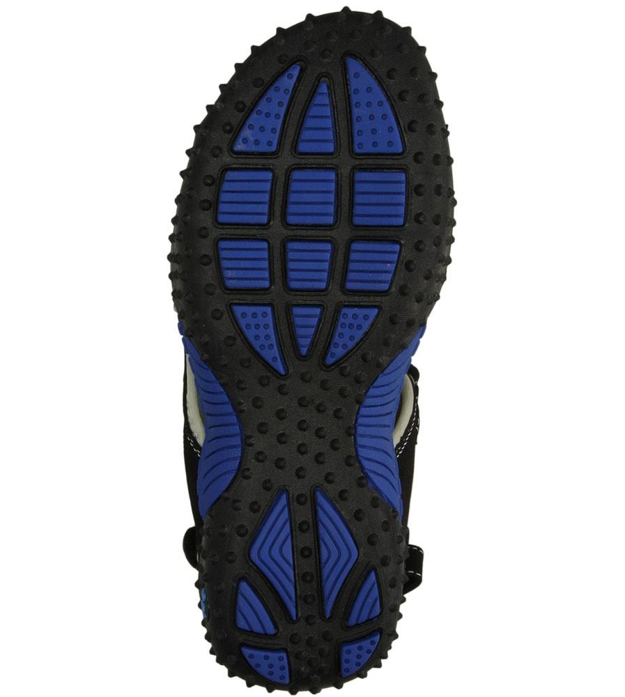 Dziecięce SANDAŁY AMERICAN RL1421 czarny;niebieski;