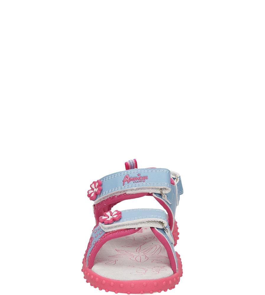 Dziecięce SANDAŁY AMERICAN RL1415 niebieski;różowy;