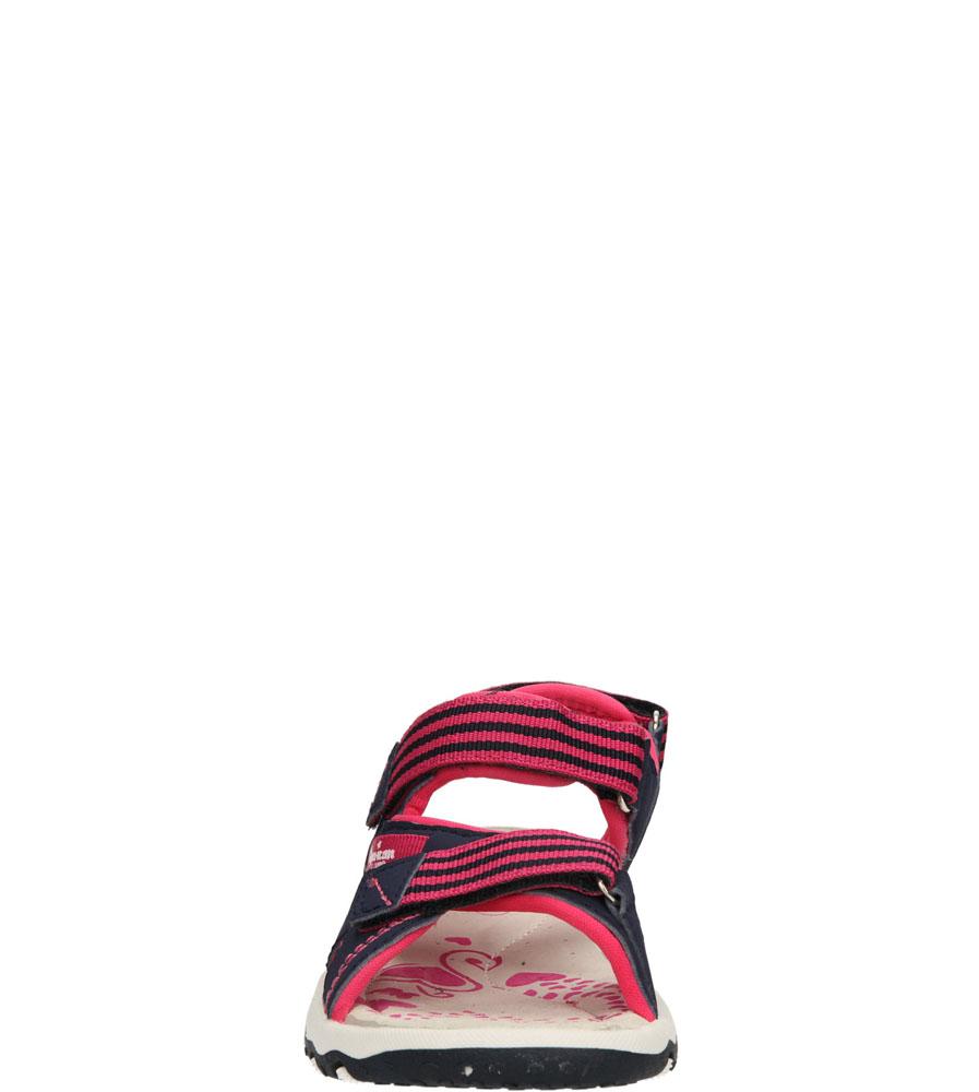 Dziecięce SANDAŁY AMERICAN K131193 niebieski;różowy;