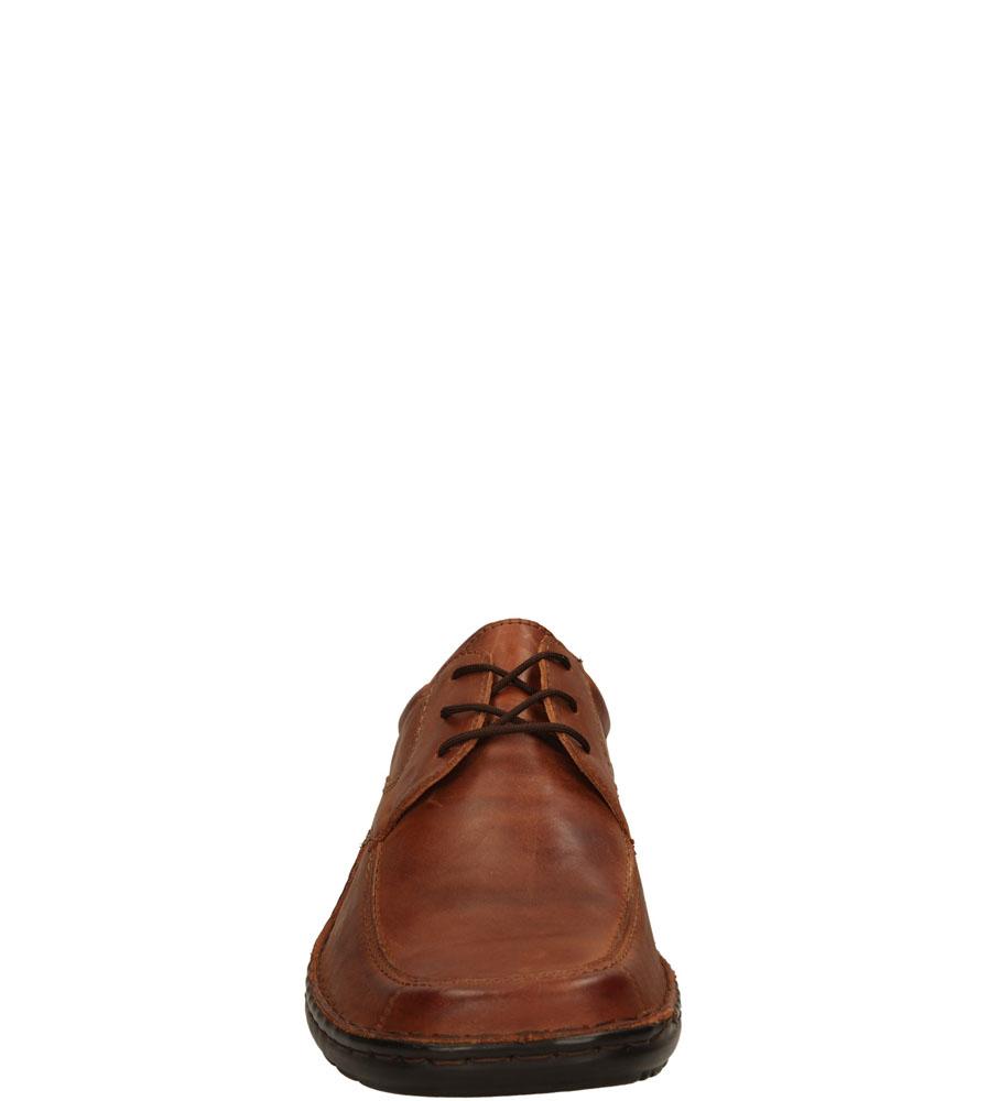 Męskie PÓŁBUTY ŁUKBUT 0943 brązowy;;