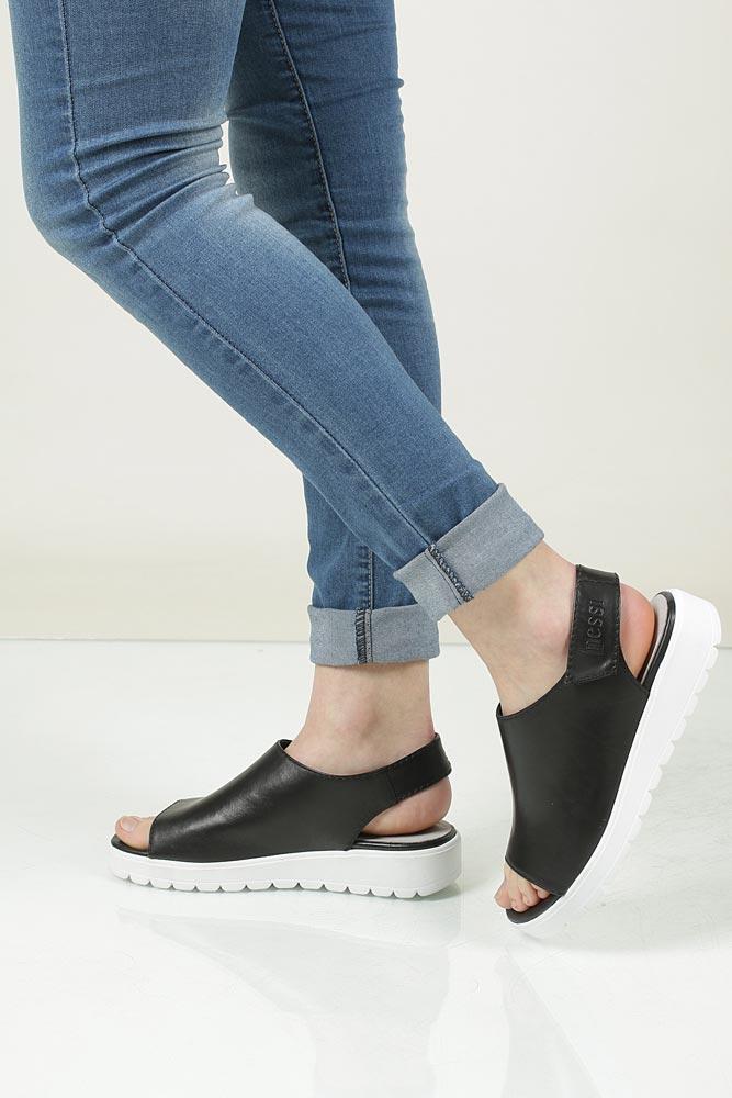Sandały skórzane Nessi 66605 model 66605