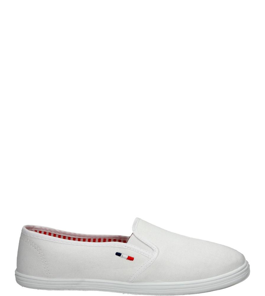 Damskie TENISÓWKI MCKEY R15-D-TN-626 biały;;