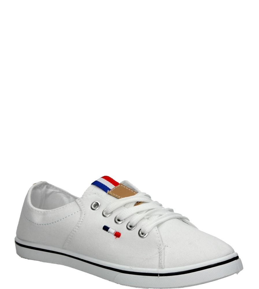 Damskie TRAMPKI MCKEY R14-D-TN-267 biały;;