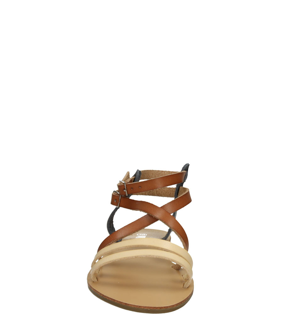 Damskie SANDAŁY VINCEZA R15-D-S-595 brązowy;;