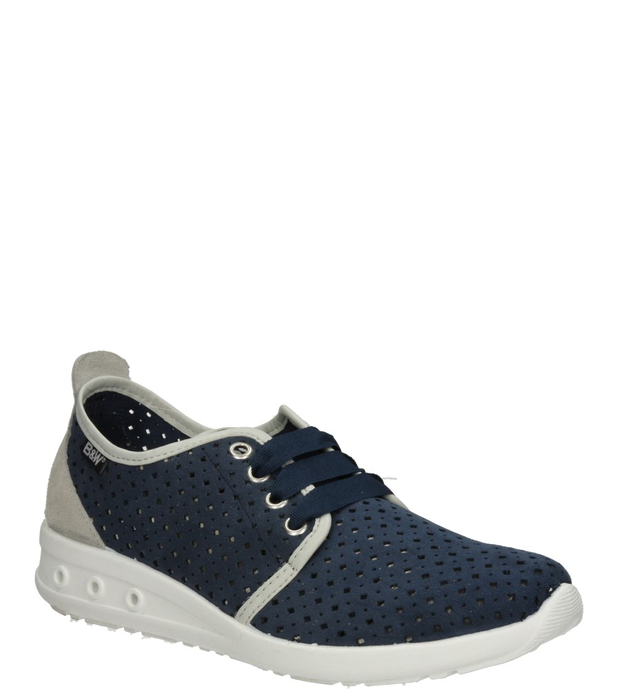 Damskie SPORTOWE B&W 14303 niebieski;;