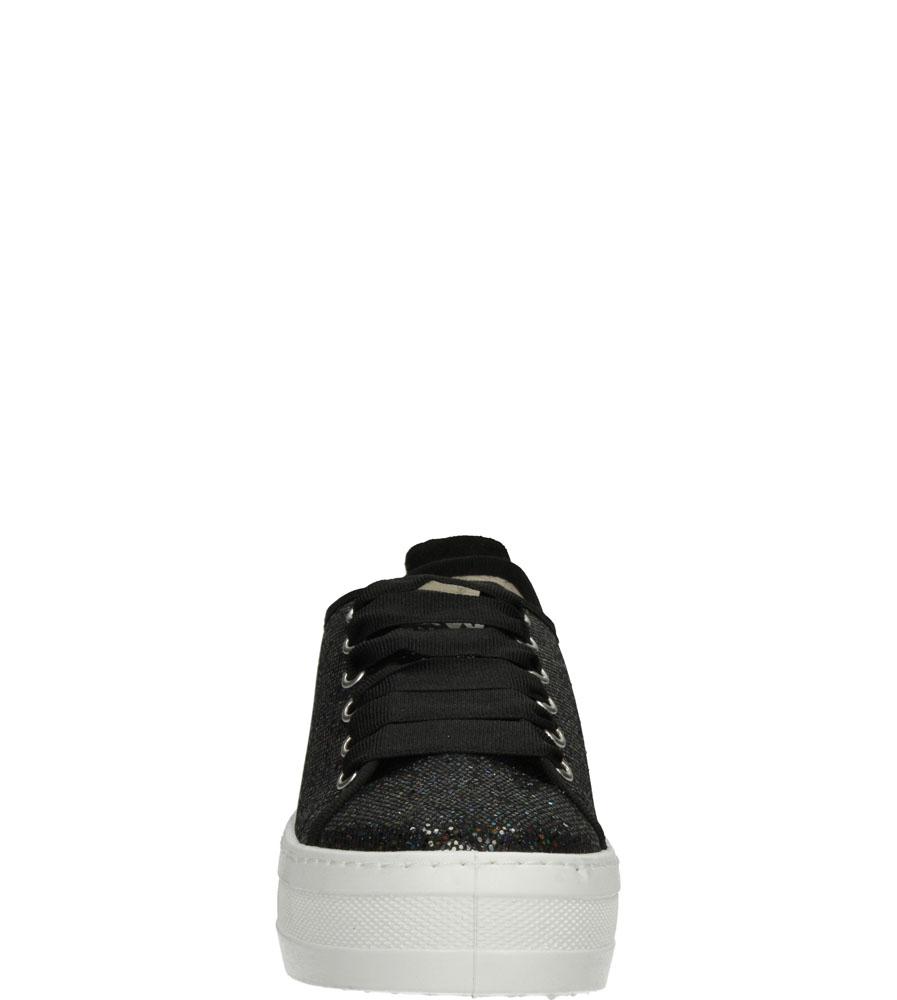 Damskie CREEPERSY B&W 14010 czarny;;