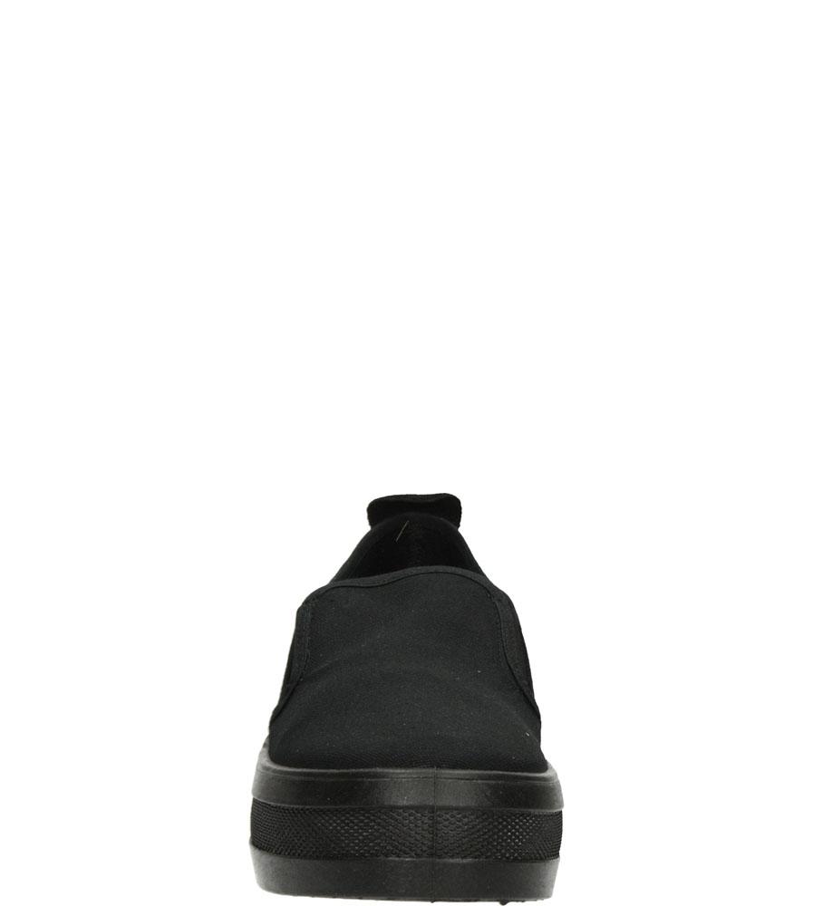 Damskie CREEPERSY B&W 14004 czarny;;
