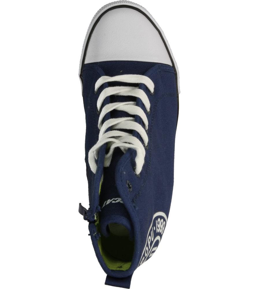 Damskie SNEAKERSY CASU VICES B708 niebieski;;