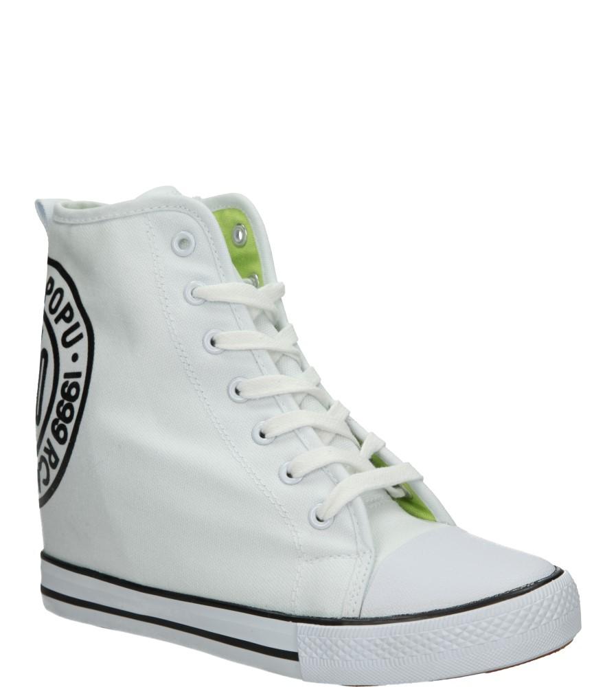 Damskie SNEAKERSY CASU VICES B708 biały;;