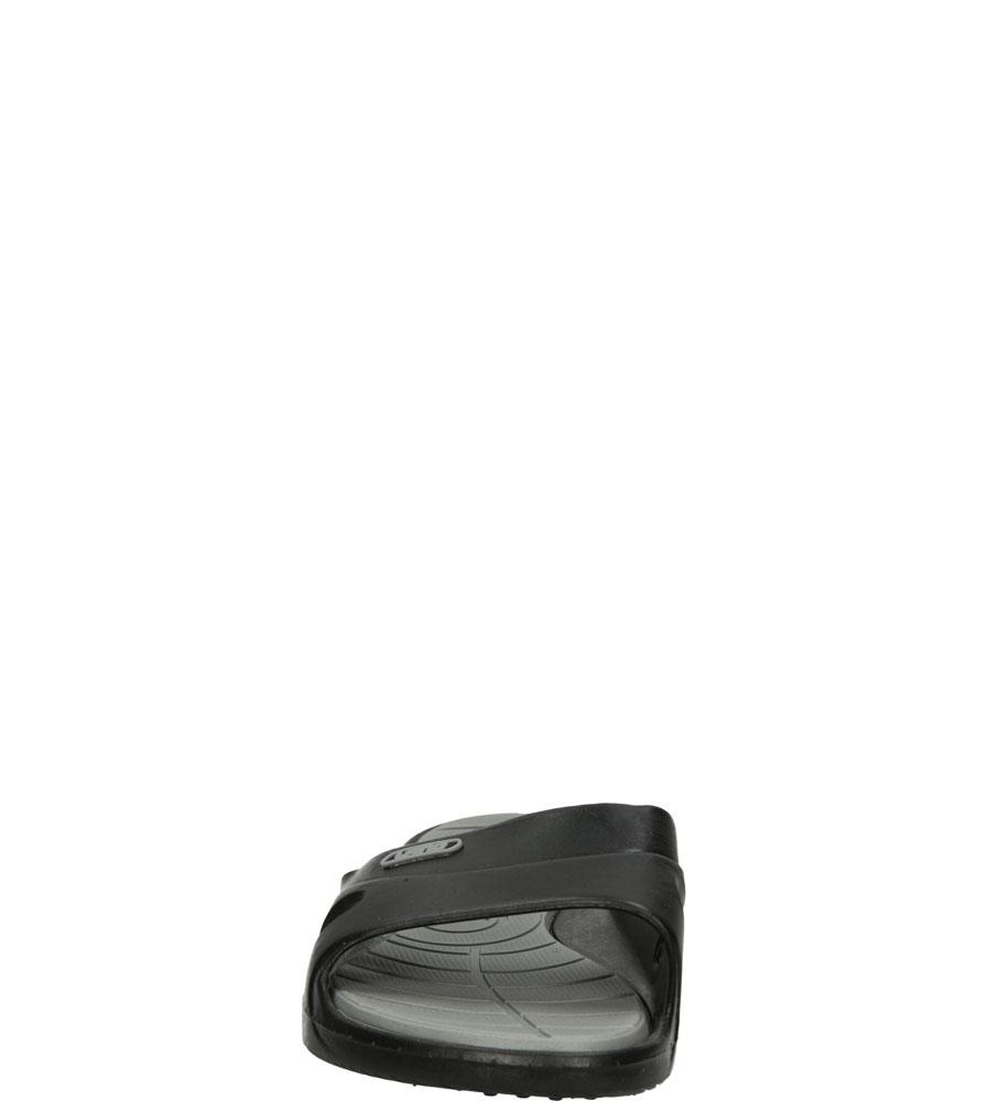 Damskie Klapki Casu 3060 czarny;szary;