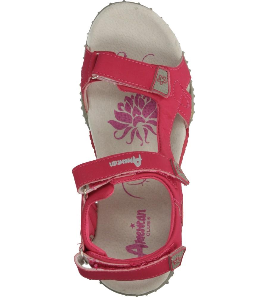 Dziecięce SANDAŁY AMERICAN BLM1123 różowy;;