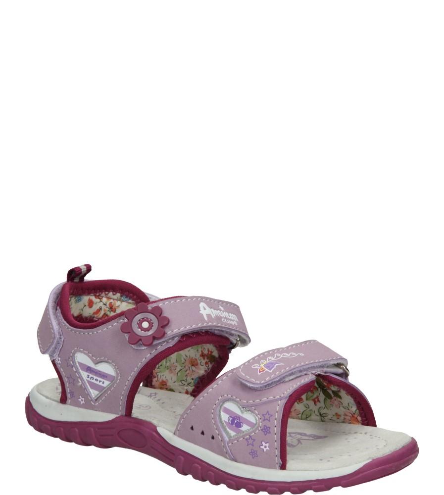 Dziecięce SANDAŁY AMERICAN K13595 fioletowy;;