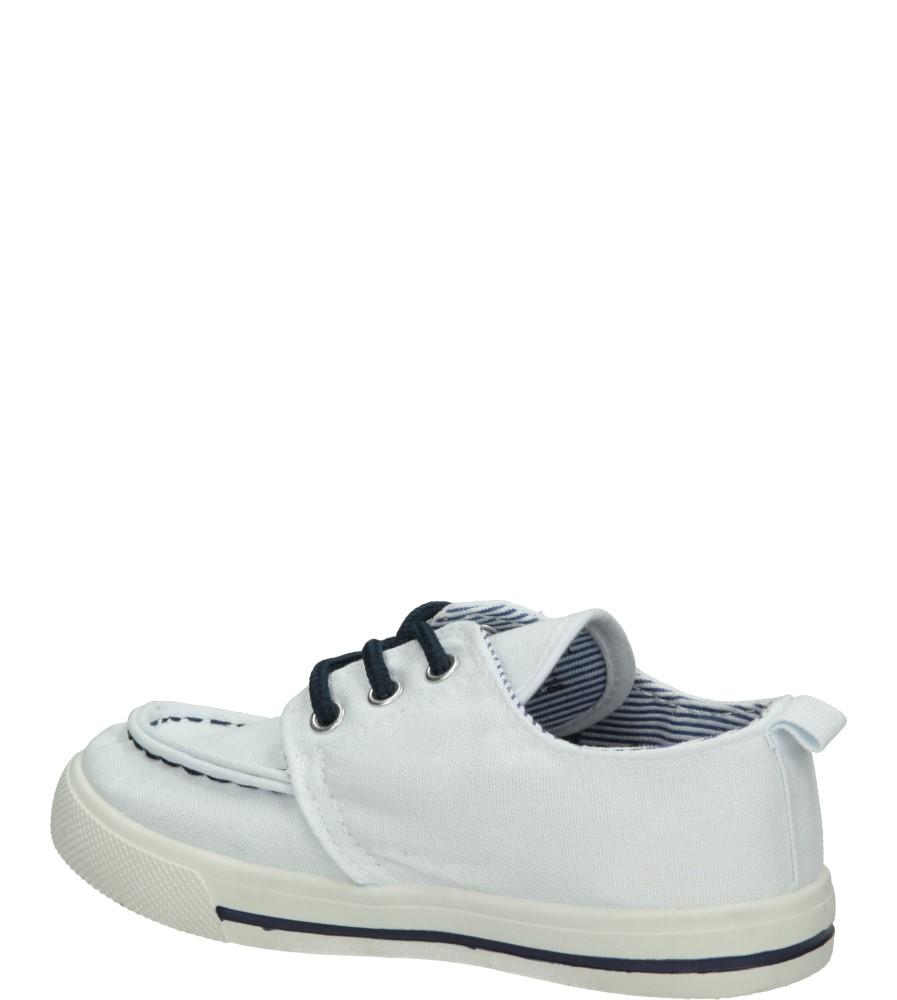 Dziecięce TRAMPKI 3TX-TJ85376 biały;niebieski;