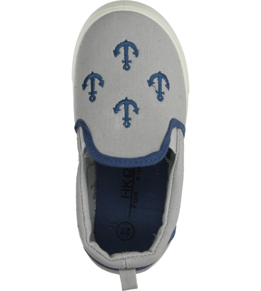 Dziecięce TRAMPKI 3TX-TJ85390 szary;niebieski;