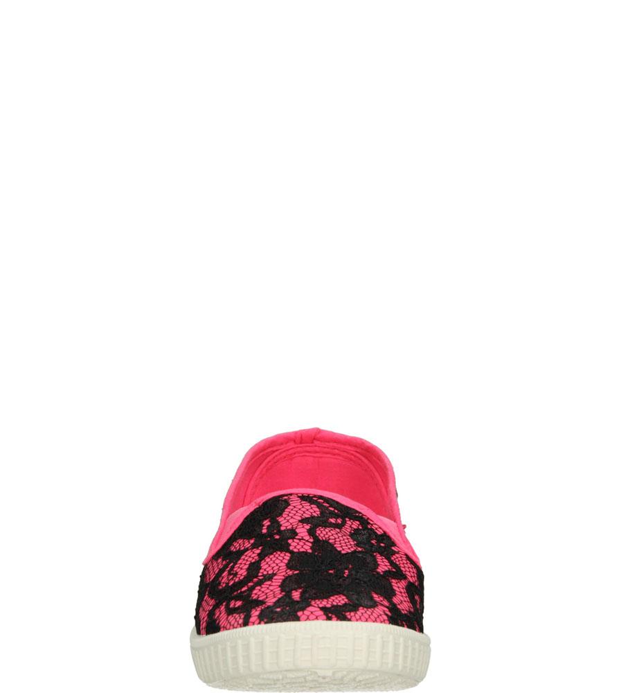 Dziecięce TRAMPKI 5TX-TJ85379 czarny;różowy;