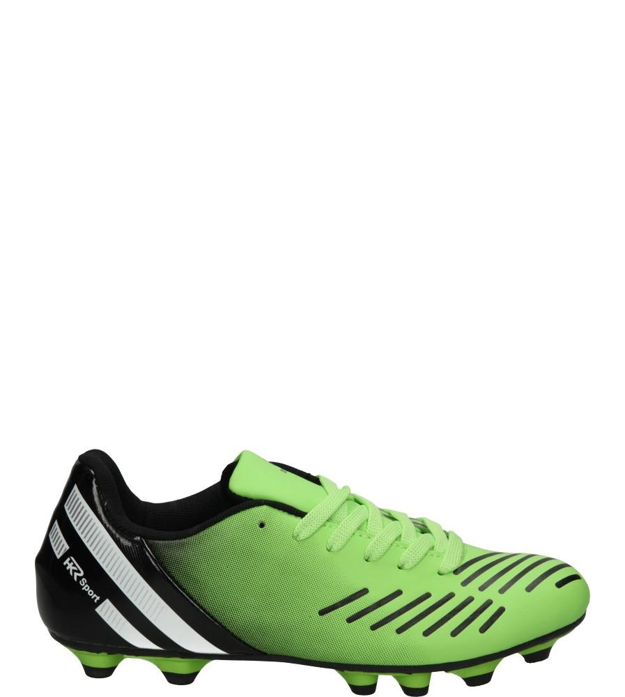 Męskie SPORTOWE 7FB-FU85027 zielony;czarny;
