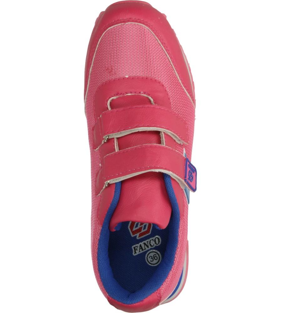 Dziecięce SPORTOWE FX860 różowy;niebieski;