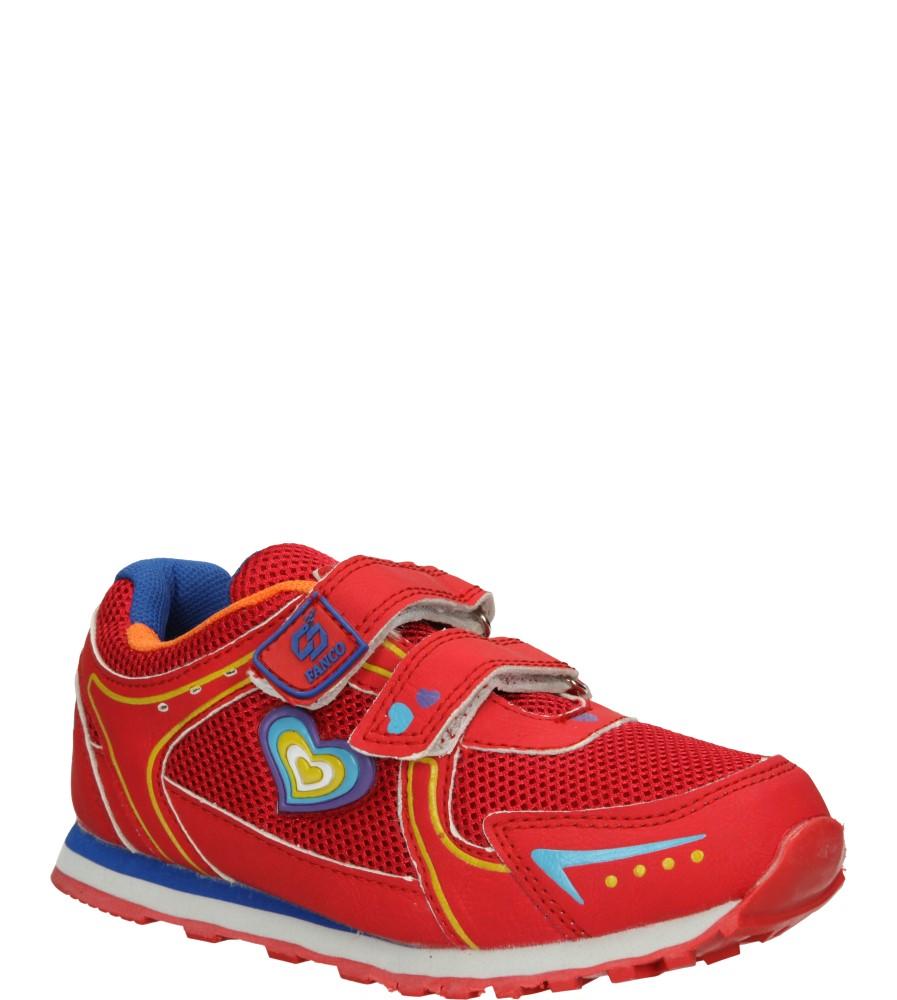 Dziecięce SPORTOWE FX851 czerwony;;