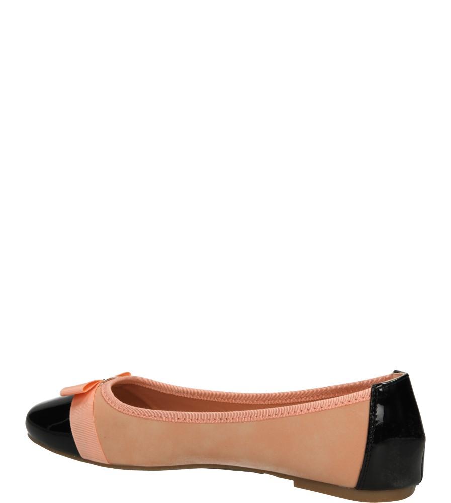 BALERINY C518 kolor czarny, różowy