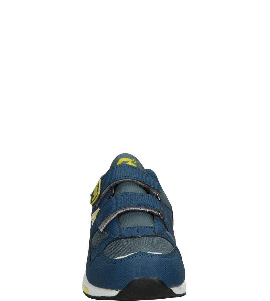 Dziecięce SPORTOWE FX04B niebieski;szary;złoty