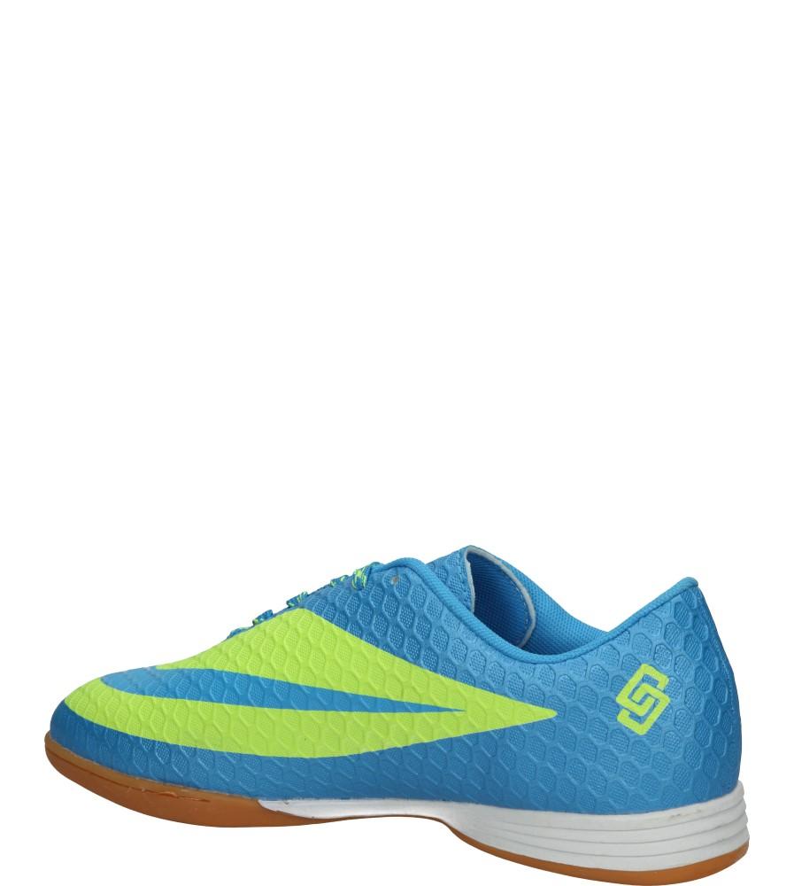 HALÓWKI CASU KD8444H kolor limonkowy, niebieski