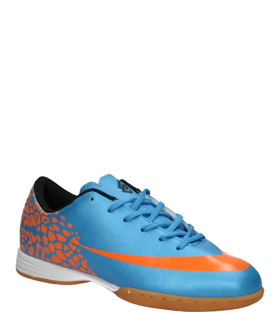 Męskie HALÓWKI KD8462H-4 niebieski;pomarańczowy;