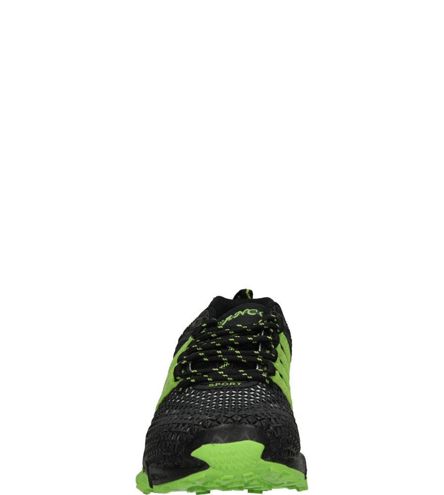 Męskie SPORTOWE CASU A414 czarny;zielony;