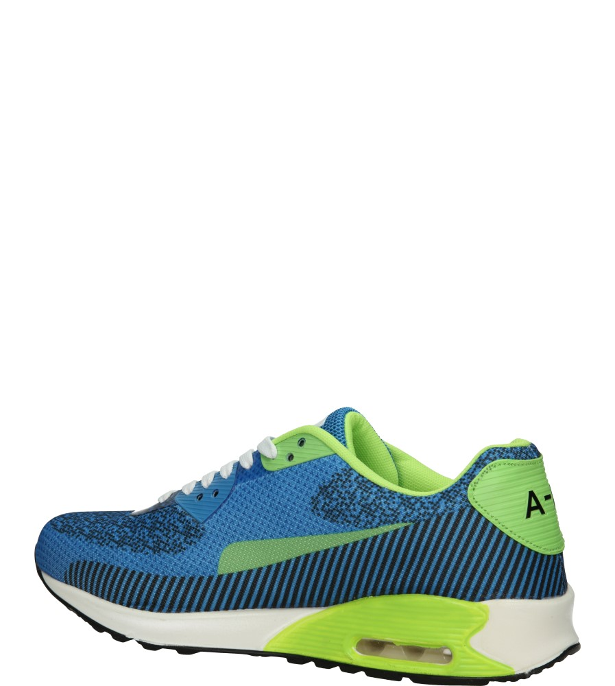 SPORTOWE CASU A415 kolor jasny niebieski, jasny zielony, niebieski