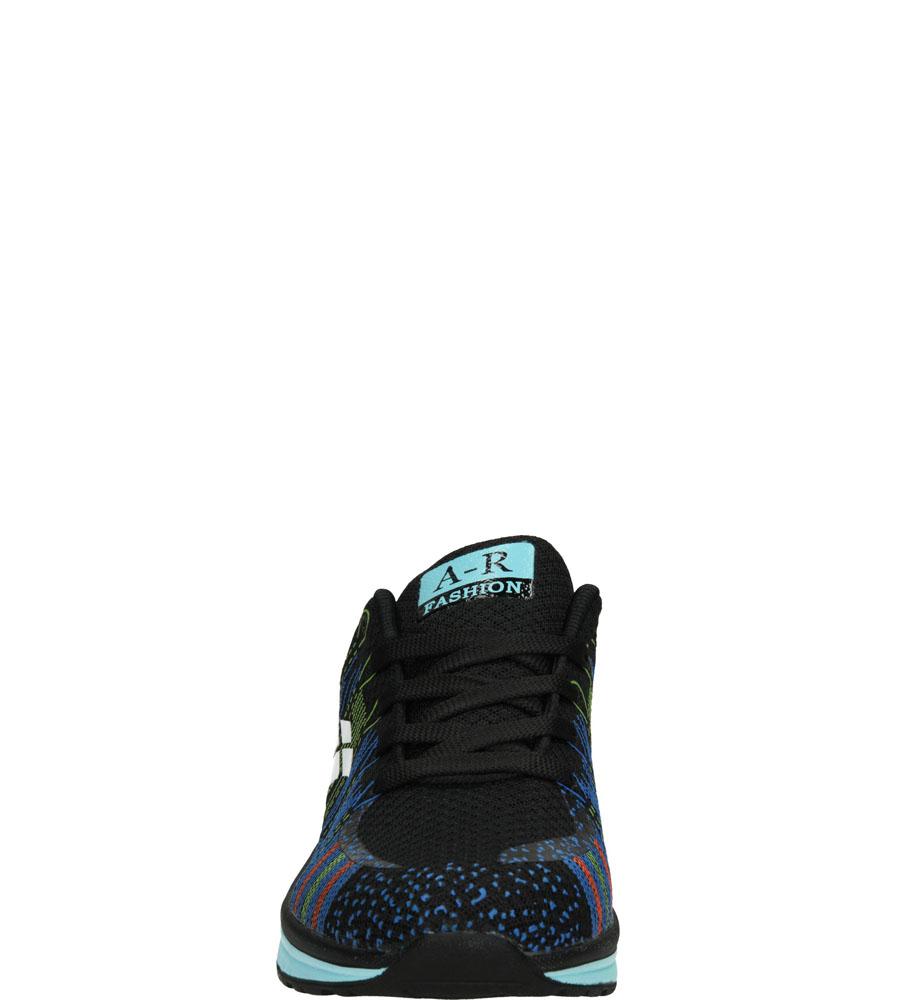 SPORTOWE CASU A417 kolor czarny, niebieski