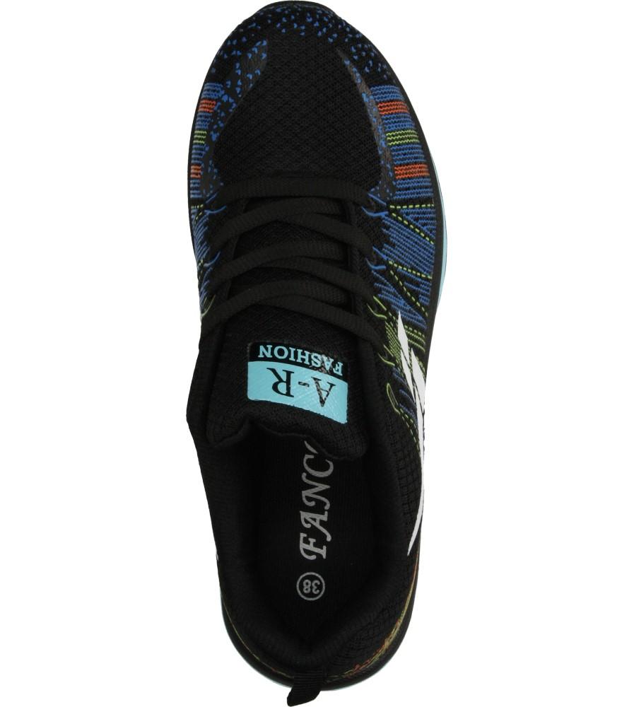 Damskie SPORTOWE CASU B417 czarny;niebieski;