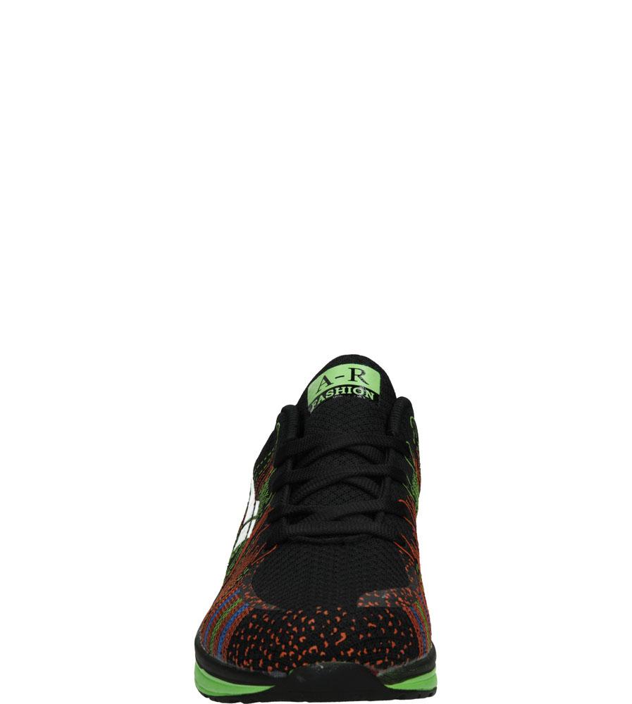 Damskie SPORTOWE CASU B417 czarny;zielony;